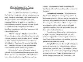 Exle For Narrative Essay by Narrative Essay Exle