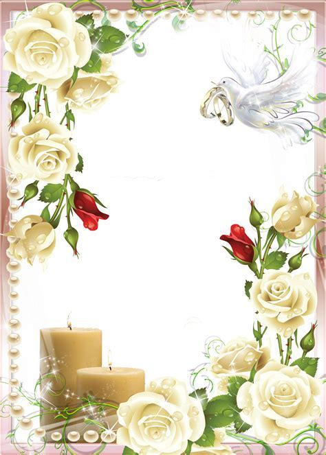 frame clipart wedding png   Clipground