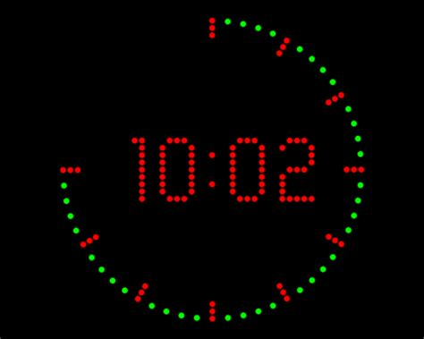 Station Clock 7 Digital Clock Gif 9to5animations Com Station Coloring Page