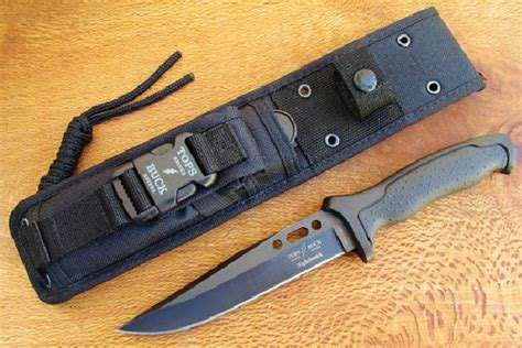 tops buck nighthawk 650 review knife knowledge tutorials and knife history tops buck