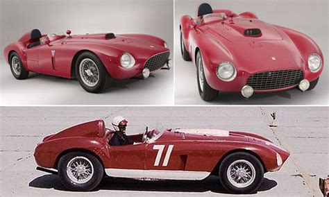 second car ever ferrari 375 plus is 2nd most expensive road car ever sold