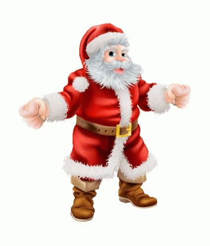 santa dance christmas  gif santadance christmasmusic excitedforchristmas discover