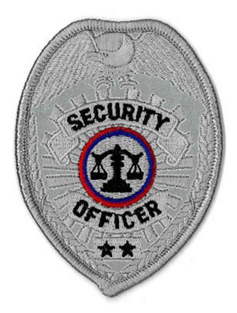 Bordir Patch Emblem Badgr Mcdonald security officer badge patch 640021 s pride security officer badge patch mcdonald