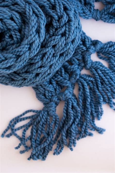what does pm in knitting arm knit tassel scarf 4821
