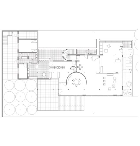 tugendhat house plan ajrosalesdesign mies van der rohe tugendhat house main level floor plan drafted by
