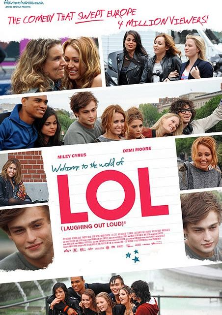 film lol new images from lol movie starring demi moore miley