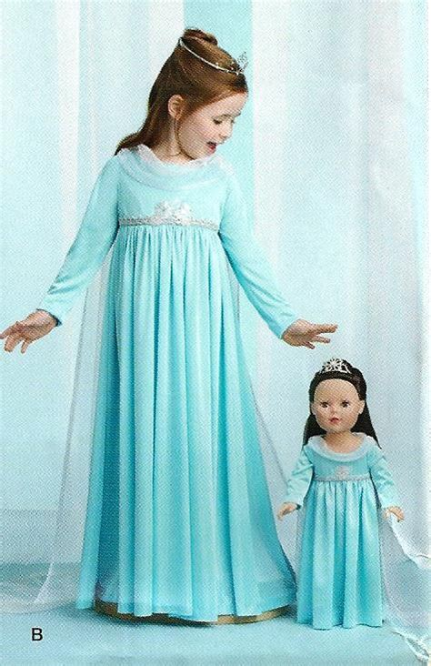 pattern dress frozen frozen sewing pattern make elsa dress for girl and for
