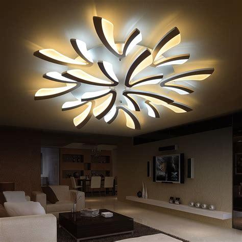 Moderne Wohnzimmer Leuchten by Modern Dimmable Led Living Room Ceiling Light Large
