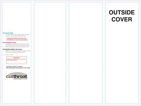 cutthroat printcustom brochure printing
