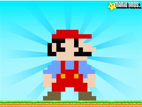 super mario pixel art by sullyvancraft on deviantart super mario pixel by thierryctv on deviantart