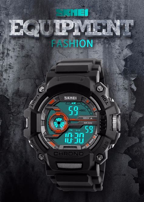 Jam Tangan Digital Skmei Dg1243 skmei jam tangan digital pria dg1233 camouflage