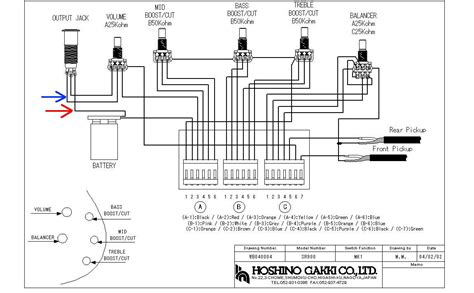 bass wiring diagrams ibanez gsr205 wire diagram 26 wiring diagram images