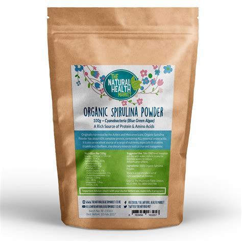 Energy Detox Cleanse by Organic Spirulina Powder Cleanse Detox
