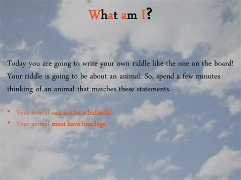 what animal am i for new year year 2 sats what am i riddle by joelroutledge teaching