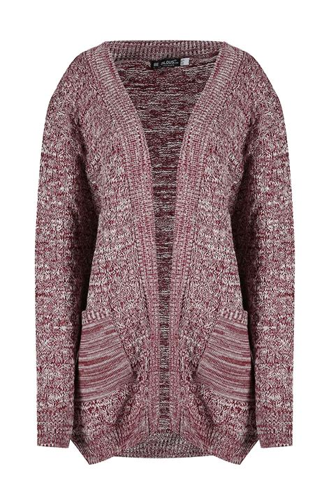cable knit cardigan womens womens cable knit boyfriend cardigan chunky waffle
