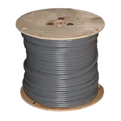 southwire 500 ft 12 gray solid thhn wire 22870001 the