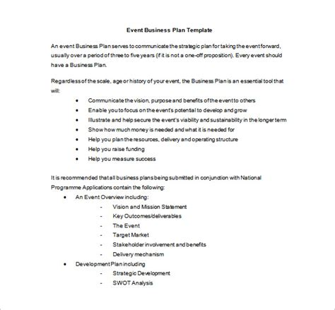 event planning report sle event planning template 5 free word pdf documents