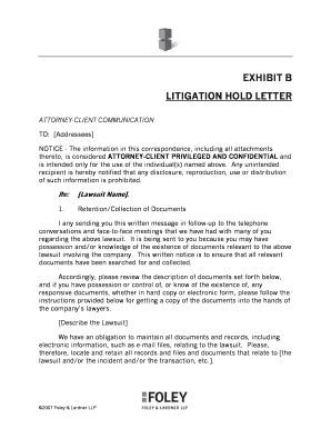 esi cancellation letter format litigation hold letter to client docoments ojazlink