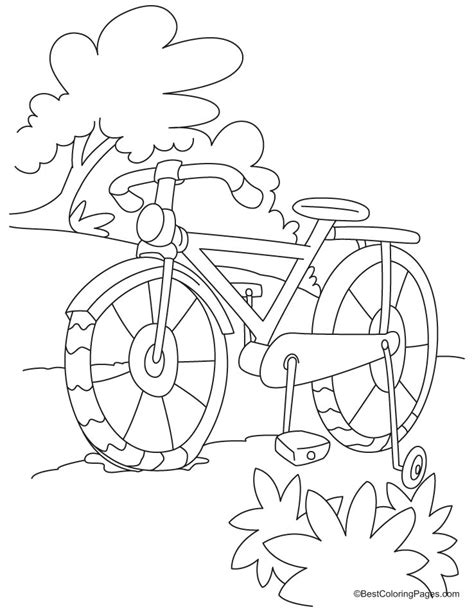 coloring book length free coloring pages of bike