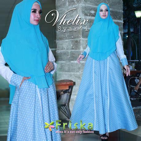 Pusat Grosir Baju Muslim Qisara Syari Balotelly 7 gamis syari cantik vhelix syari by friska pusat grosir baju muslim