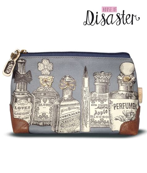 Handbags In The Biba Lives Vintage Range At Miss Selfridge by Disaster Designs Vintage Boudoir Print Makeup Bag Finga