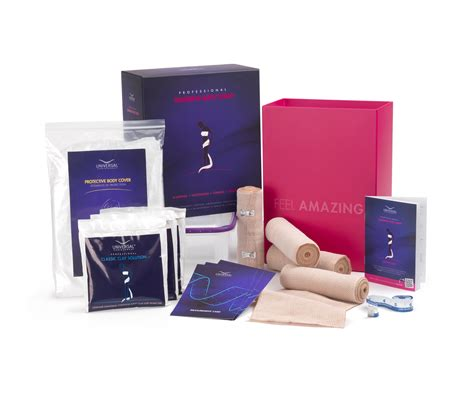 Skin Therapy Lipo Slim Detox Clay Wrap Kit by Slimming Wrap Kit For Inch Loss And Firming