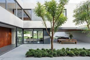 house with courtyard steel concrete and home with central courtyard