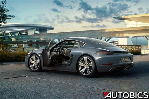 Porsche 718 Cayman by Porsche 718 Cayman And Porsche 718 Boxster Launched In