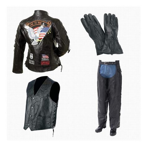 motorcycle jacket vest s leather motorcycle jacket vest chaps and