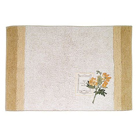 Avanti Bath Rugs Avanti Alana Bath Rug In Ivory Bed Bath Beyond