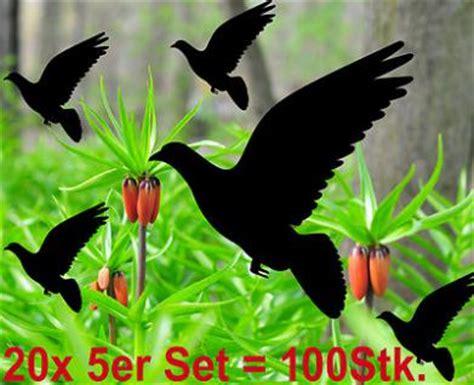 Aufkleber Hochzeit Dm by Vogelschutz Fensterschutz Fensterfolie Deko Folie