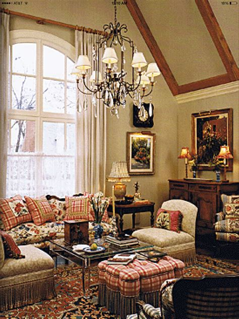 interior of country home design and decorating