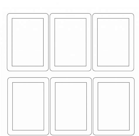 Matching Card Templates by Paw Print Memory
