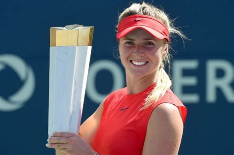 Buzarnescu Svitolina Elina Svitolina Remporte La Coupe Rogers Tennis