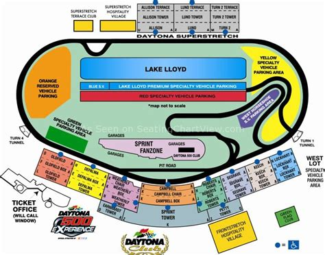 daytona speedway seating diagram daytona international speedway daytona fl seating