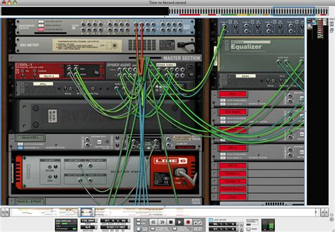 Music Studio Layout kvr record by propellerhead software sequencer multitrack