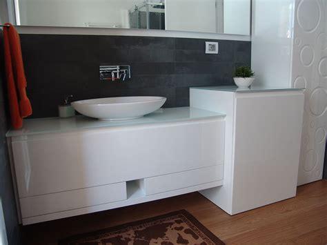 mobile bagno con lavatrice bagno laccato bianco lucido by arredamentiancona it