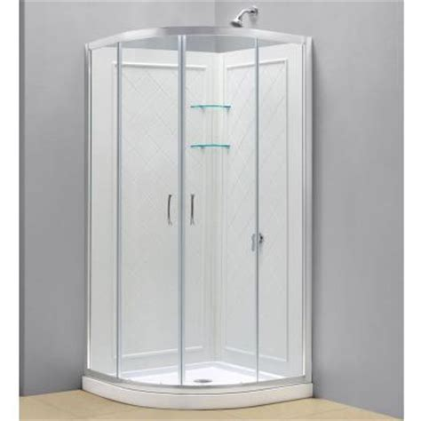 home depot shower dreamline prime 33 in x 33 in x 76 3 4 in sliding