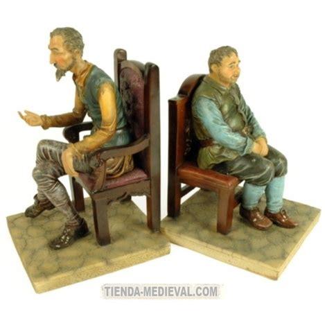 cervantes la figura en figuras de don quijote y sancho panza tienda medieval