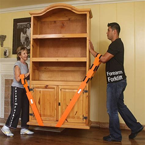 forearm forklift lifting  moving straps  furniture