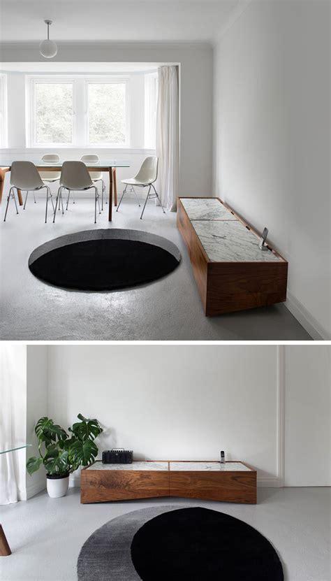 rug  designed  create  optical illusion