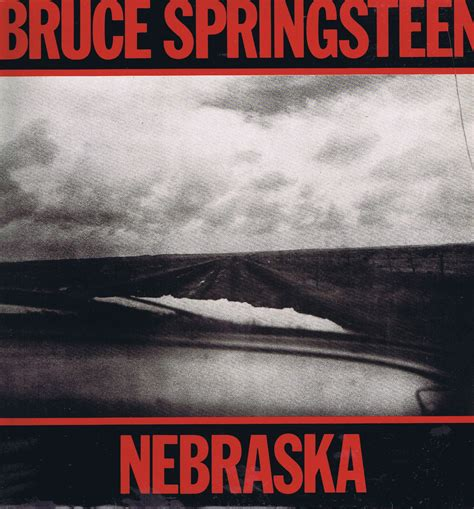 Records Nebraska Bruce Springsteen Nebraska Cbs 25100 A1 B3 Lp Vinyl Record Wax