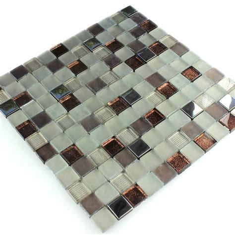 mosaik fliesen beige glass mosaic tiles brown beige silver mix fl90054