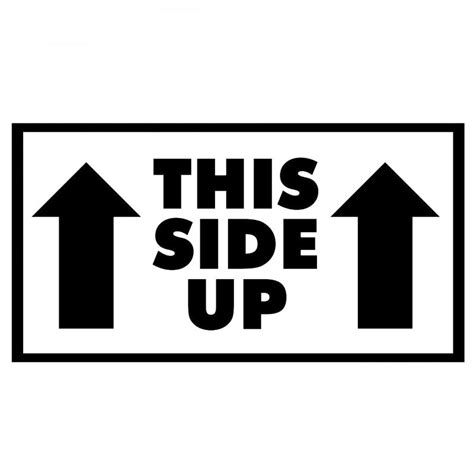 Up Sticker popular this side up sticker buy cheap this side up