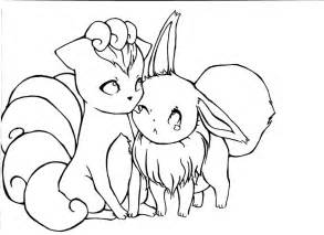 eevee coloring pages pictures of eevee az coloring pages