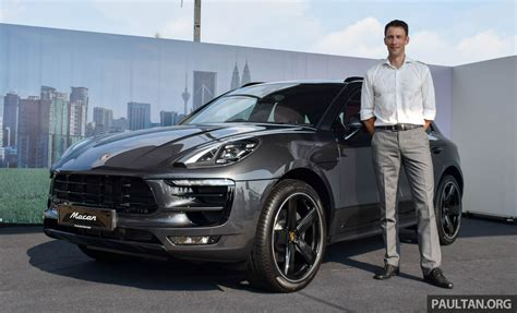 porsche macan 2016 2016 porsche macan launched in m sia with new kit