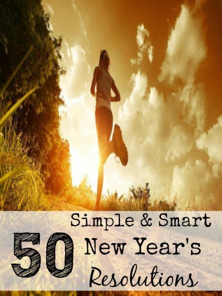 simple new year resolutions 50 simple and smart new year s resolution ideas new year