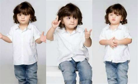 The gallery for --> Shahrukh Khan And His Son Abram