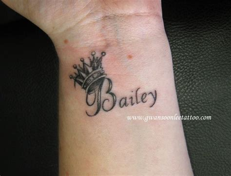 baileys tattoo crown tattoos with letter j