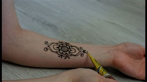 henna tattoo youtube henna for arm